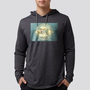 Delaware Quarter 2015 Mens Hooded Shirt